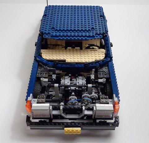 Lego Subaru AWD