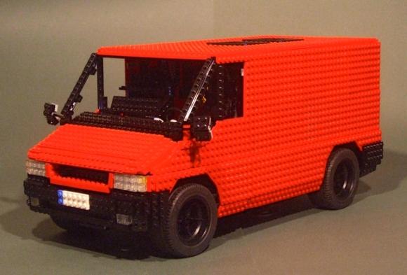 Lego Ford Transit Van