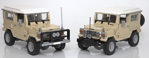 Lego Toyota Landcruiser