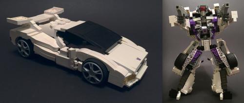 Lego Transformer Car