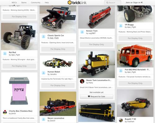 Lego Cars Gallery