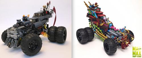 Lego Mad Max Gigahorse Elves