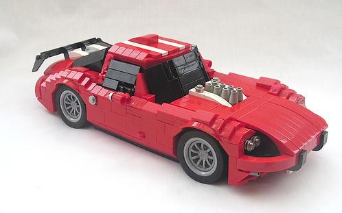 Lego Marcos GT Racing