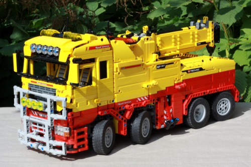 Lego Technic RC Tow Truck