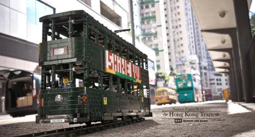 Lego Technic Tram RC