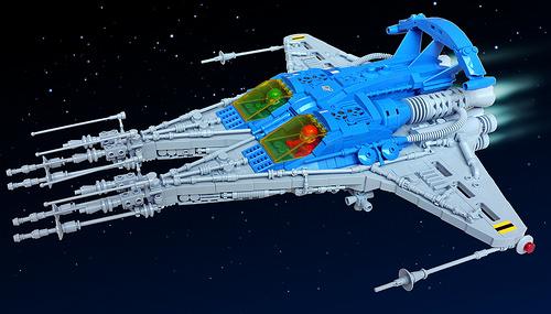Lego Classic Space Spacecraft