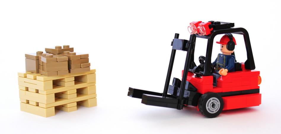Forklift The Lego Car Blog