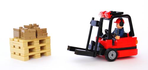Lego Forklift