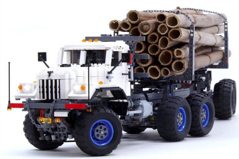 lego logging truck - photo #39
