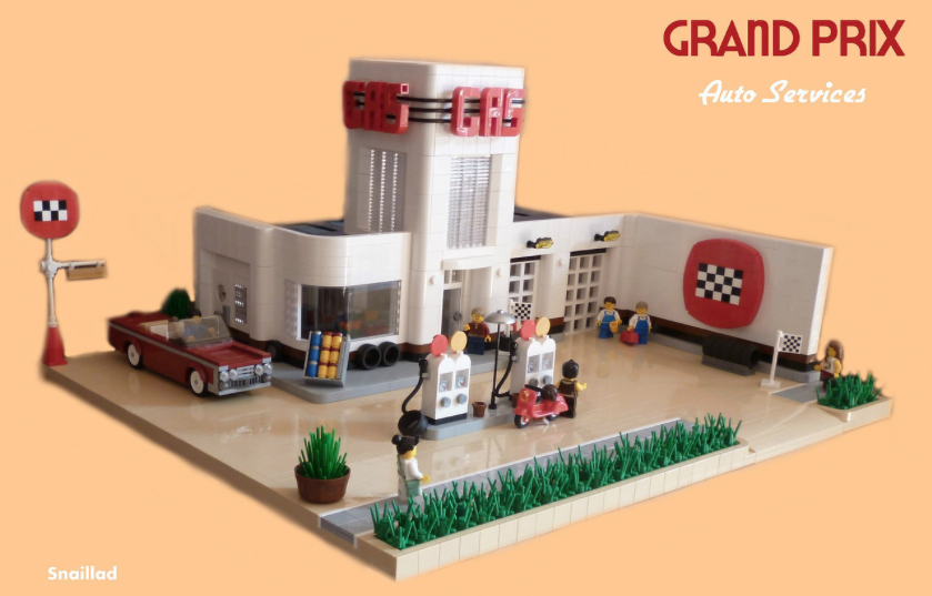 Grand Prix Auto Services The Lego Car Blog