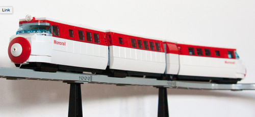 Lego Simpsons Monorail