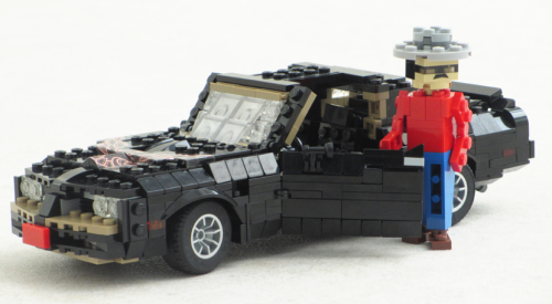 Lego Pontiac Trans-Am Smokey and the Bandi