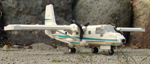 GAF Nomad Aircraft Lego
