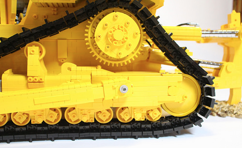 Lego Caterpillar Bulldozer