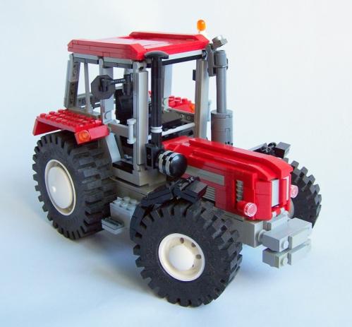 Lego Schlüter 1500 TVL Tractor