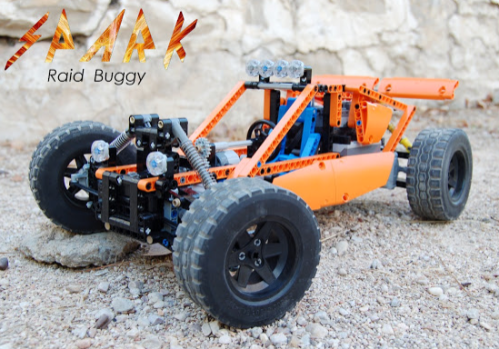 Lego Technic RC Buggy Sheepo