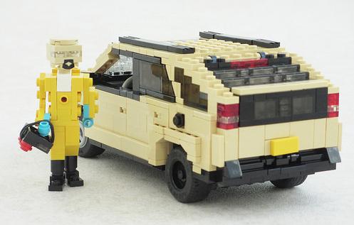 Lego Pontiac Aztek Heisenberg