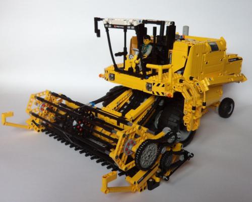 Lego Technic Combine Harvester