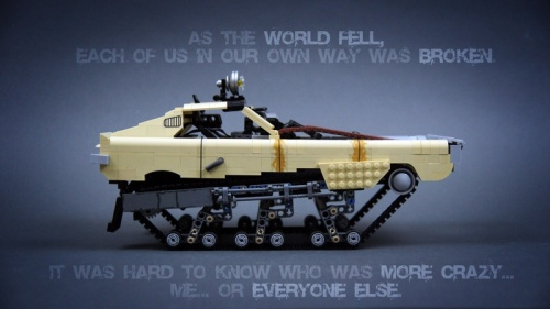 Lego Mad Max Fury Road Tank