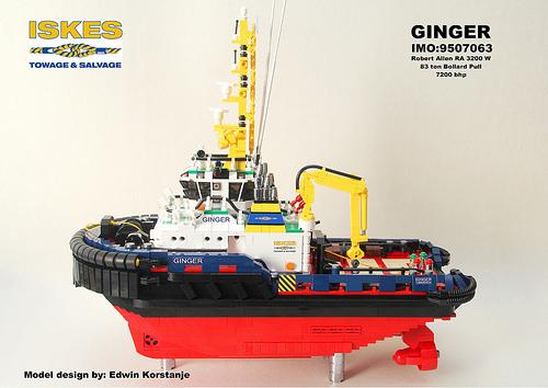 Lego Tug Boat