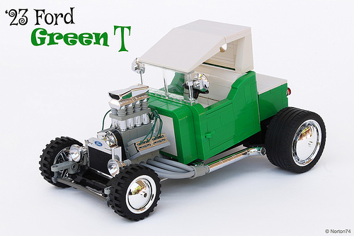 Lego Ford T-Bucket Hot Rod