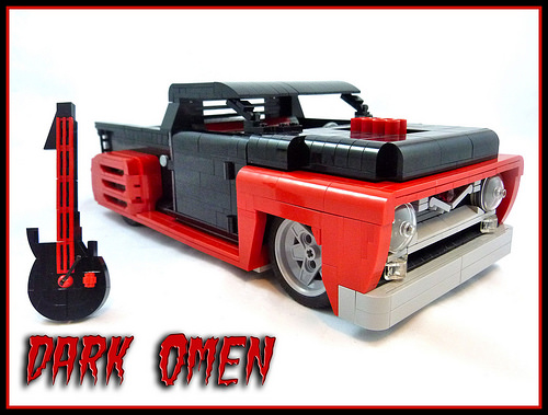 Lego Ford F-100 Hot Rod