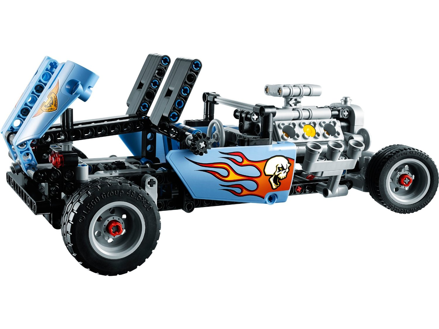 42022 Technic Hot Rod Review The Lego Car Blog