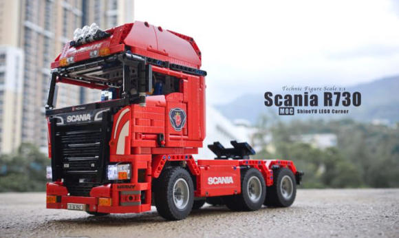 Lego Technic Scania Truck