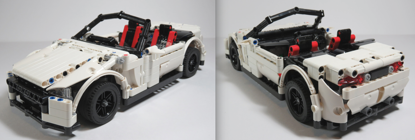 Topless Technic THE LEGO CAR BLOG - Small sports cars 2015