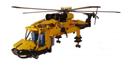 Lego Sikorsky CH-54 Helicopter