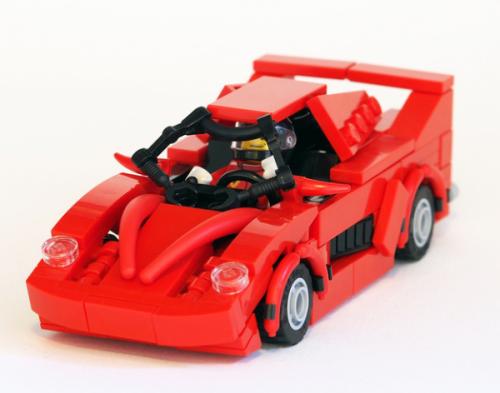 Lego Ferrari F50