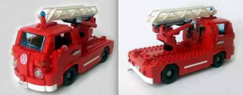 Lego VW Transporter Fire Engine