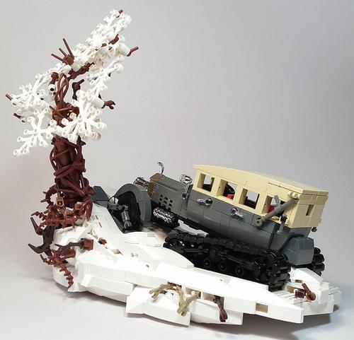 Lego Rolls Royce Silver Ghost Lenin