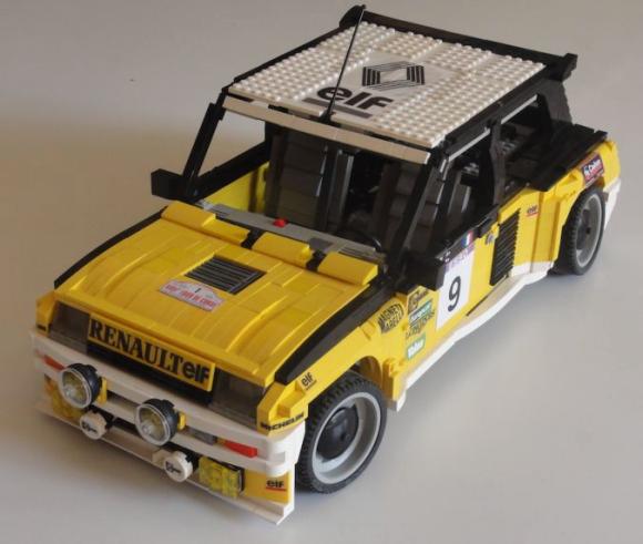 Lego Renault 5 Turbo