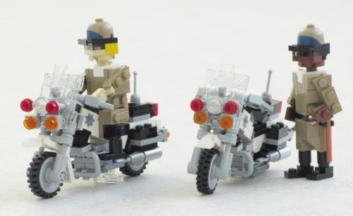 Lego Kawasaki Police Motorcycle