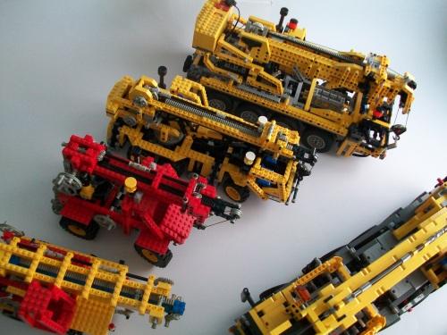 Lego Cranes
