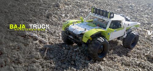 Lego Trophy Truck