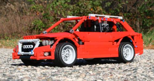 Lego technic Audi Allroad