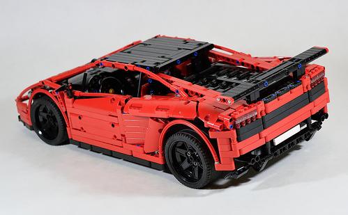 Lego Technic Lamborghini Gallardo RC