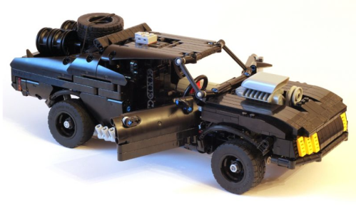 Lego technic Mad Max V8 Interceptor