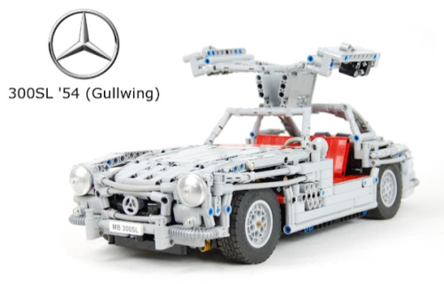 Lego Mercedes Gullwing SL300 Sheepo