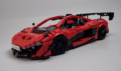 Lego McLaren GTR Concept