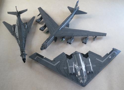 Lego USAf Bombers