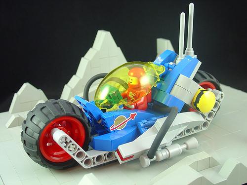 Lego Space Bike