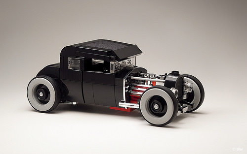 Lego 1930 Ford Coupe Hot Rod The Lego Car Blog