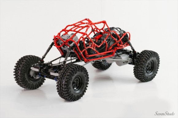 Lego Technic Remote Control Crawler