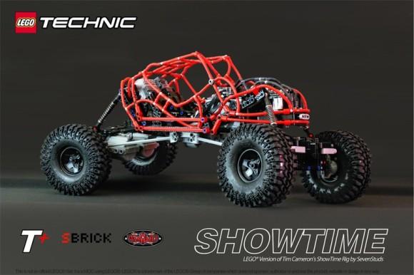 Lego Technic RC 4x4 Showtime