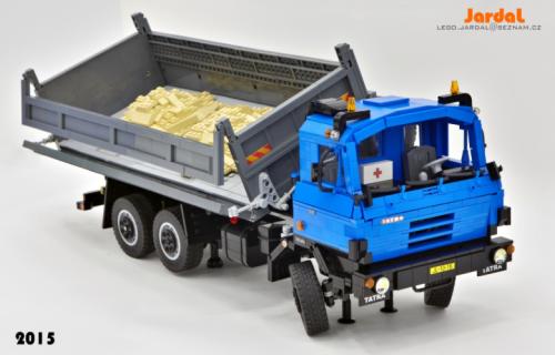 Lego Tatra Tippier Truck