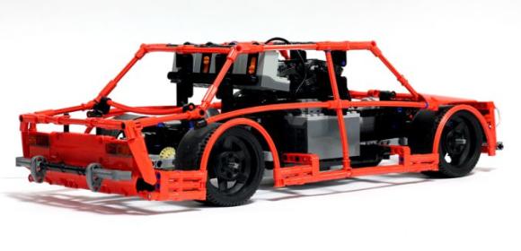 Lego Technic Drift Car The Lego Car Blog