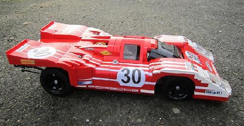 Lego Porsche 917K Herrmann/Attwood